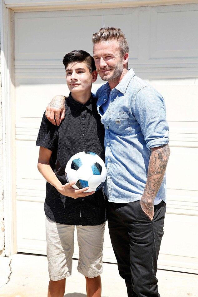 David Beckham, Knock Knock