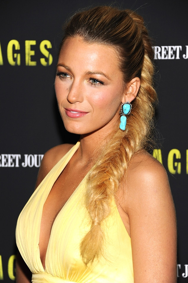 Blake Lively, Fishtail Braids