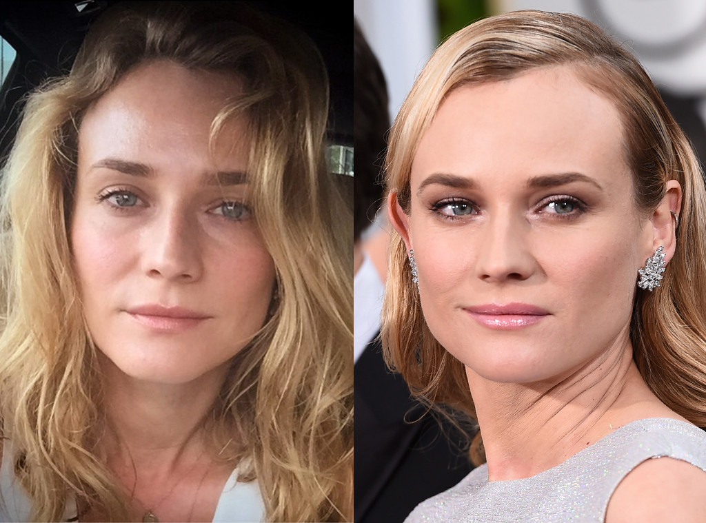 Diane Kruger from Stars Without Makeup   E! News