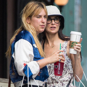 Scout Willis, Demi Moore
