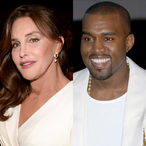 Kanye West Praises Caitlyn Jenner: ''I Feel so Proud'' to Be in Her Family