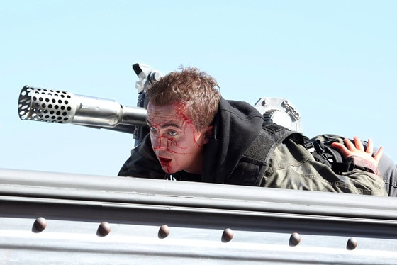 Sharknado 3: Oh Hell No!, Frankie Muniz