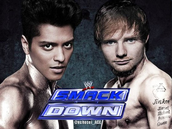 Bruno Mars, Ed Sheeran