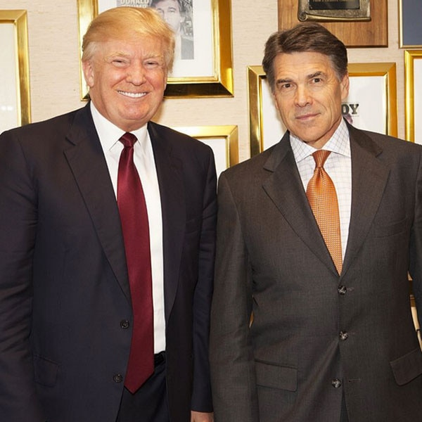 Donald Trump, Rick Perry Instagram