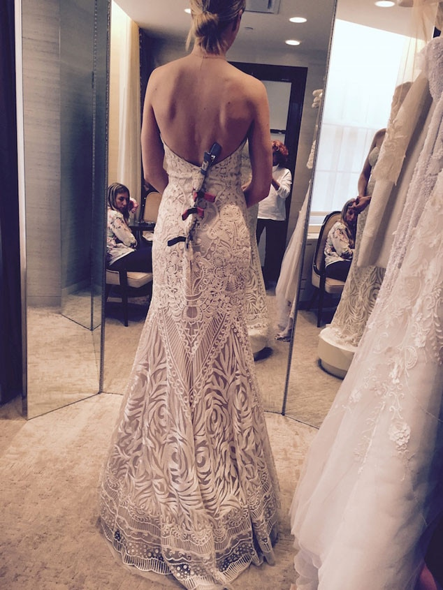 Whitney Port, Wedding Dress
