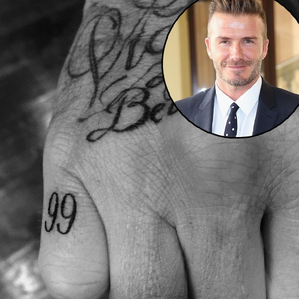 David Beckham, Tattoo