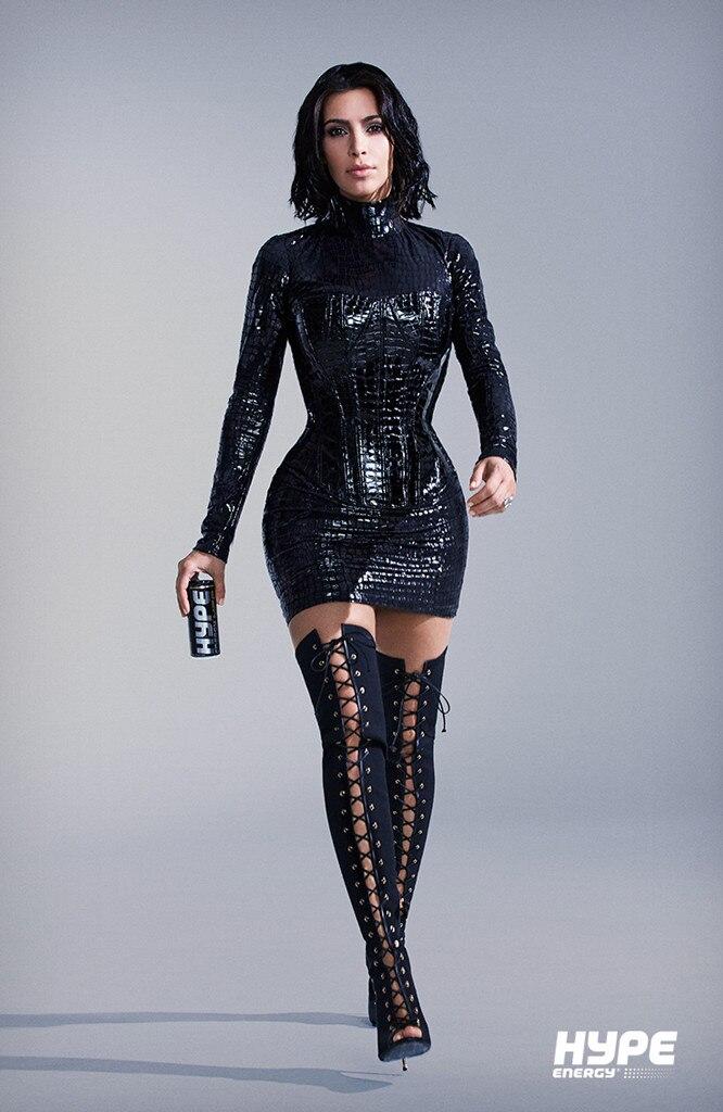 Kim Kardashian, Hype Energy Campaign