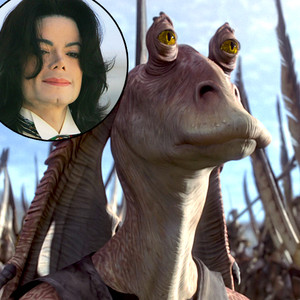Michael Jackson, Jar Jar Binks