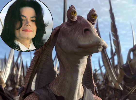 Michael Jackson, Jar Jar Binks