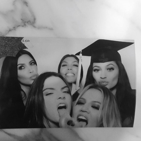 Kendall Jenner, Kylie Jenner, Graduation Party