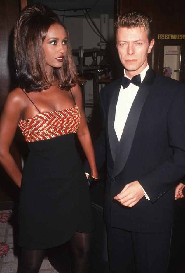 Iman, David Bowie, 1991