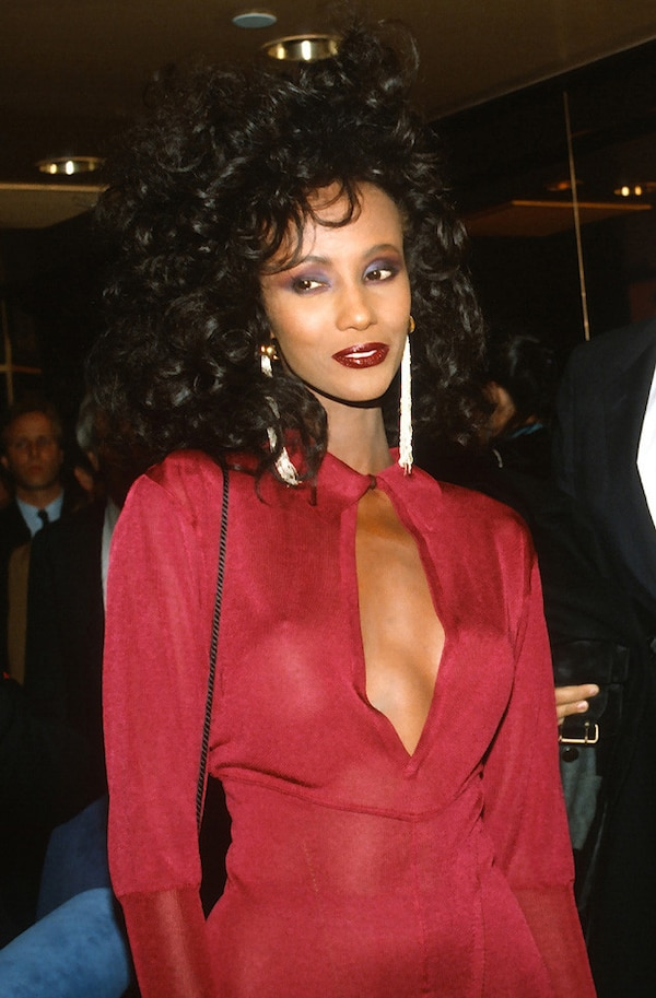 1980 from Iman's Ageless Beauty Through the Years