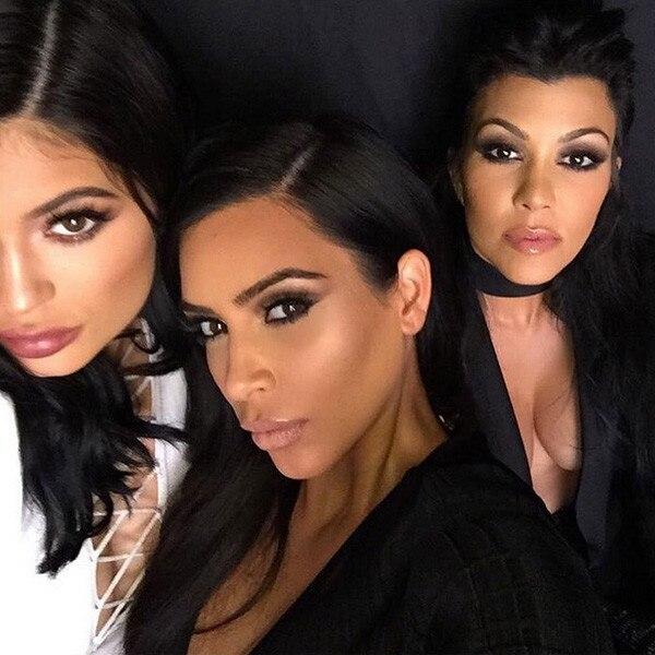 Kim Kardashian, Kourtney Kardashian, Kylie Jenner, Instagram