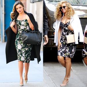 Beyonce, Miranda Kerr