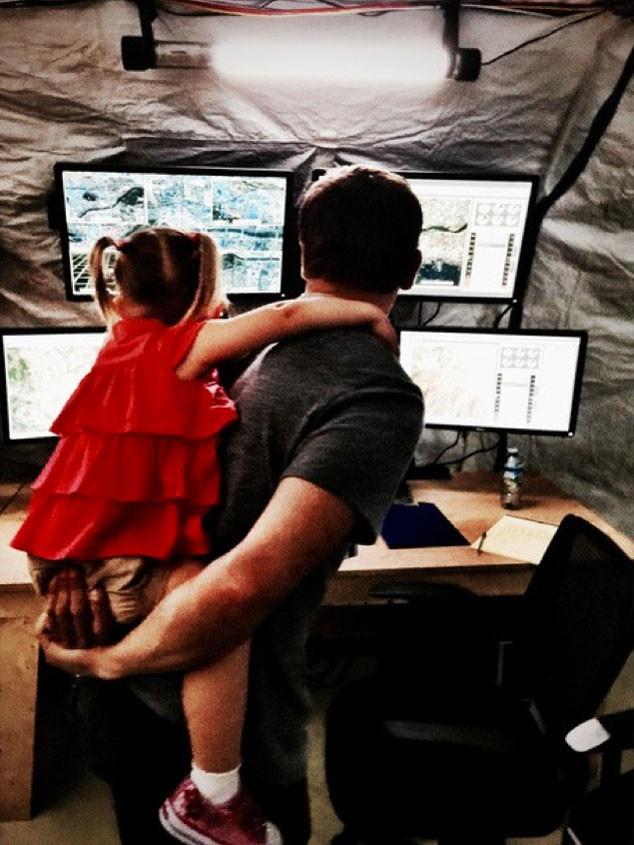 Jeremy Renner, Daughter, Instagram