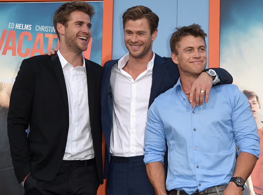 Liam Hemsworth, Chris Hemsworth, Luke Hemsworth