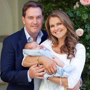 Princess Madeleine, Christopher O'Neill, Prince Nicolas, Sweden