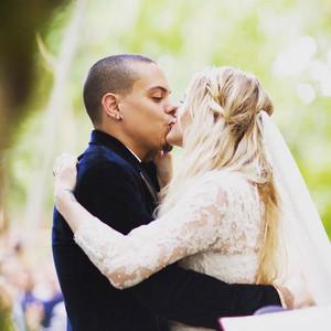 Evan Ross, Ashlee Simpson Ross, Wedding