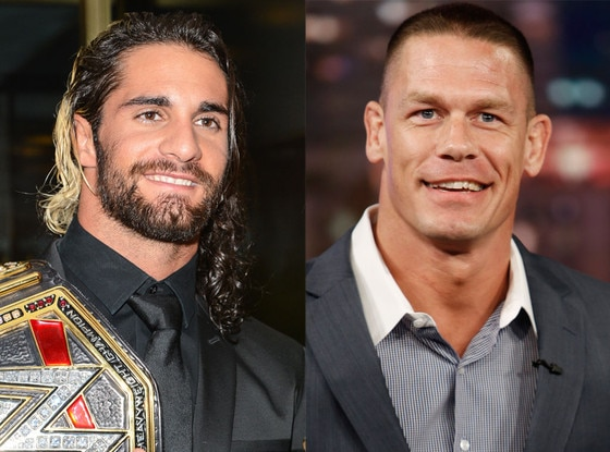 Seth Rollins, John Cena