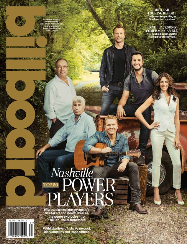 Billboard, Luke Bryan