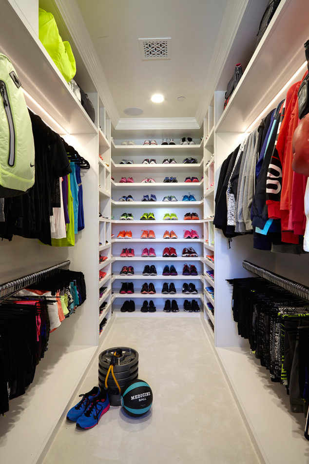 Khloe Kardashians Fitness Closet Has Everything Then Some See