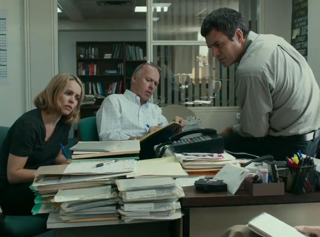 Spotlight, Mark Ruffalo, Michael Keaton, Rachel McAdams
