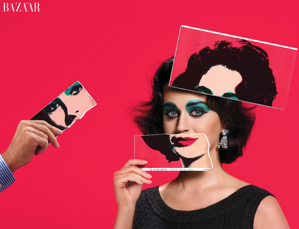 embargoed until 7/30 8am est- Katy Perry, Harper's BAZAAR's ICONS By Carine Roitfeld