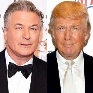 Alec Baldwin, Donald Trump
