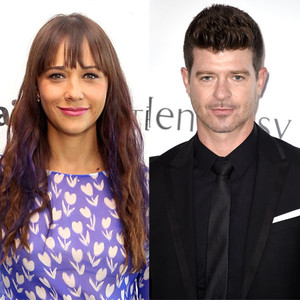 Rashida Jones, Robin Thicke