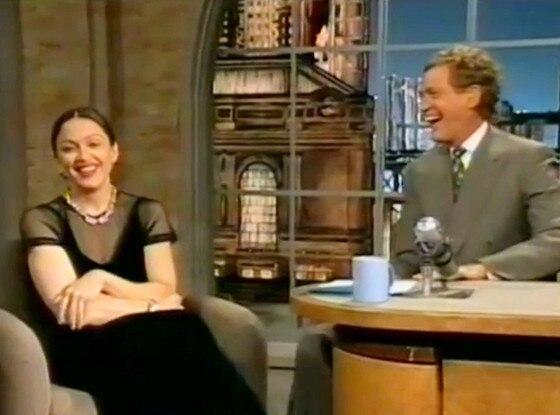 Madonna, David Letterman, 1994