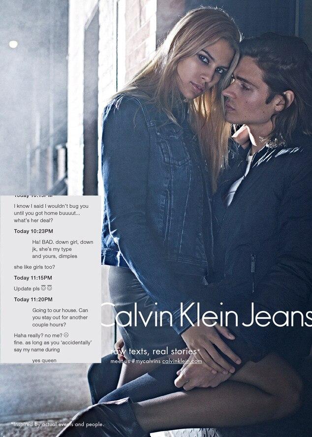 Fall 2015 Calvin Klein Jeans Ad