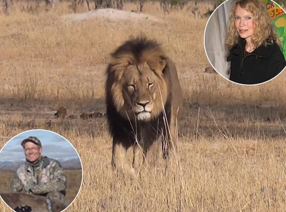 Mia Farrow, Cecil The Lion, Walter Palmer