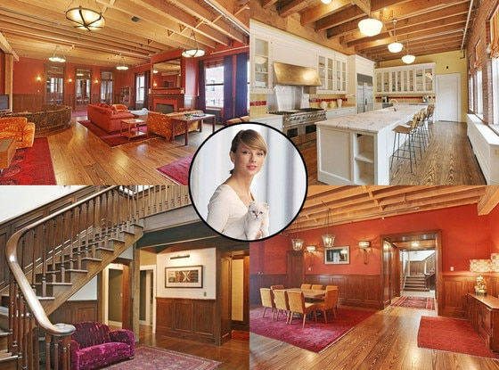 Take a look inside taylor swift s instagram famous 20 for Apartments in tribeca nyc