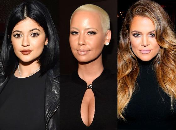 Kylie Jenner, Amber Rose, Khloe Kardashian