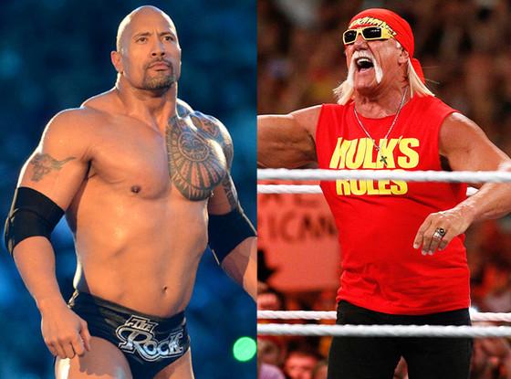 Dwayne ''The Rock'' Johnson, Hulk Hogan