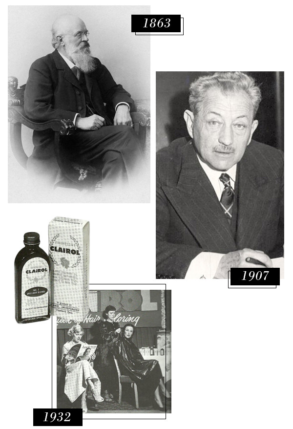 ESC, History of Hair Color