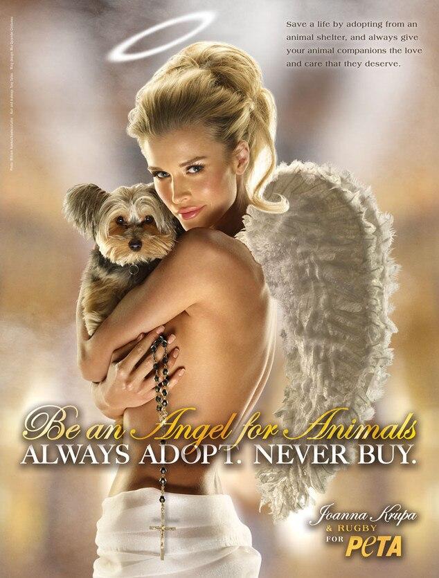 Joanna Krupa, PETA