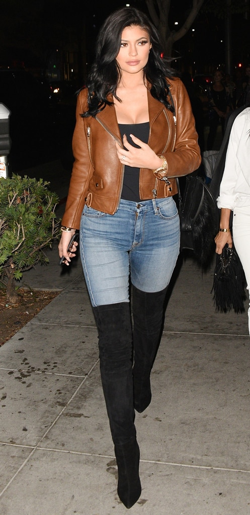 Rocker Chic From Kylie Jenner S Street Style E News
