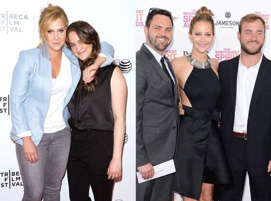 Amy Schumer, Sister, Kim, Jennifer Lawrence, Brothers, Blaine, Ben