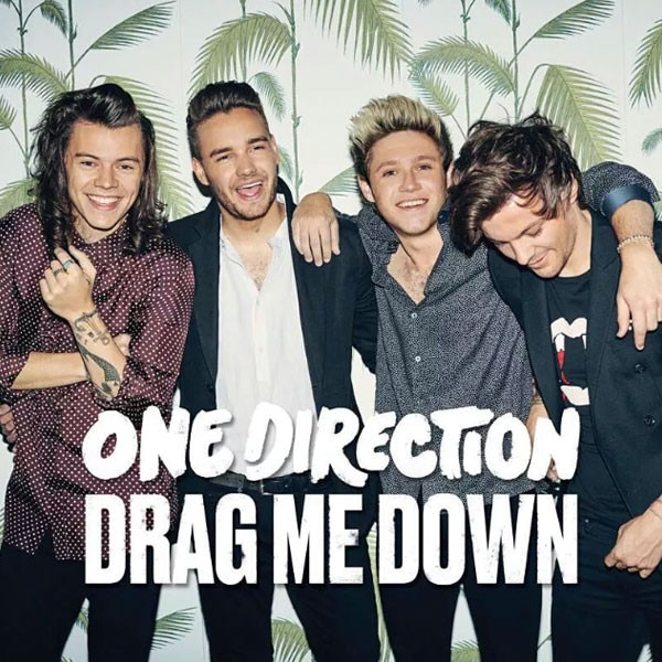 One Direction, Drag Me Down, Instagram