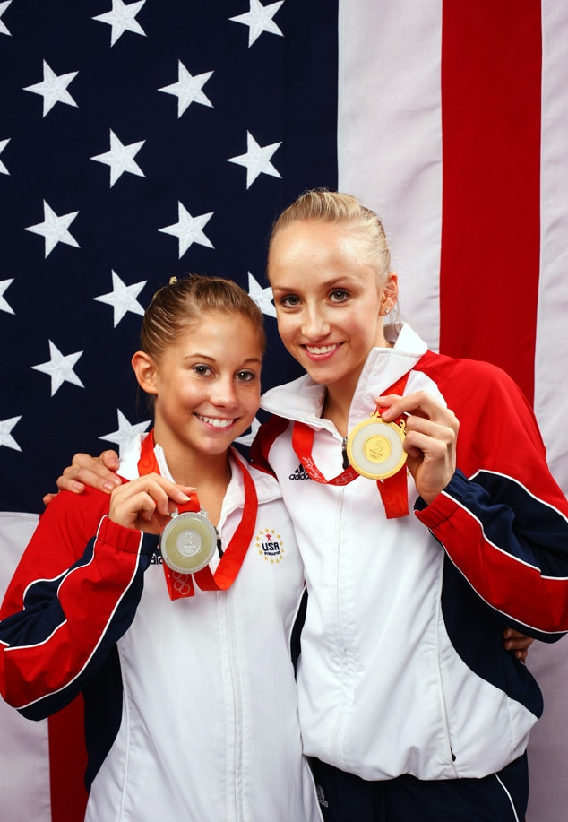 Shawn Johnson, Nastia Liukin