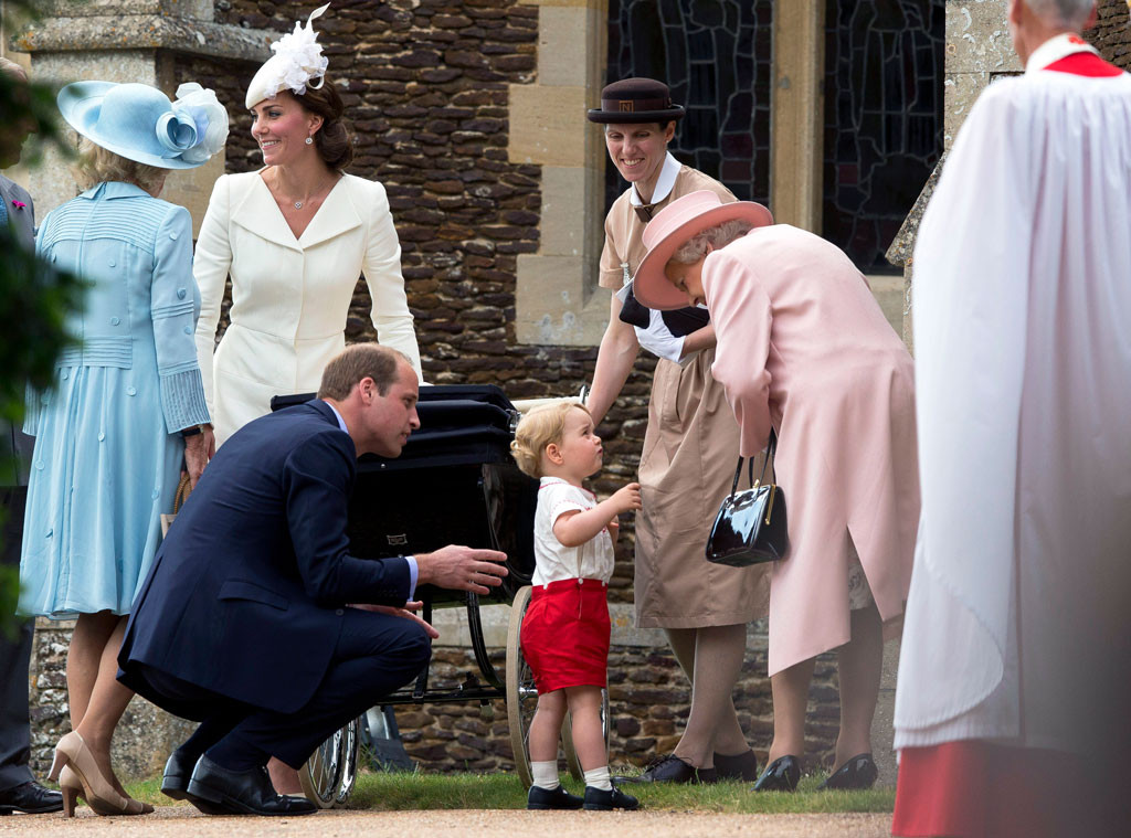 Prince William, Duchess of Cambridge, Prince George, Princess Charlotte, Queen Elizabeth, Christening, Maria Teresa Turrion Borrallo