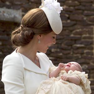 Duchess of Cambridge, Princess Charlotte, Christening