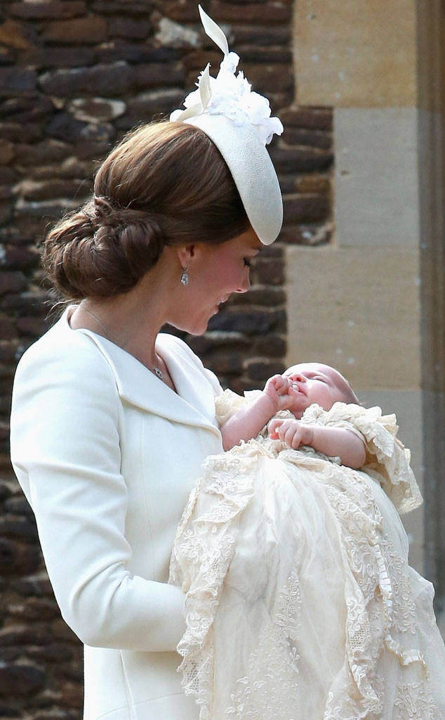 Catherine, Duchess of Cambridge, Princess Charlotte, Christening