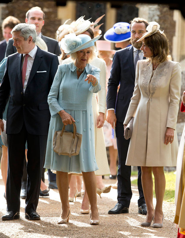 Camilla, Duchess of Cornwall Michael Middleton, James Middleton, Carole Middleton, Christening