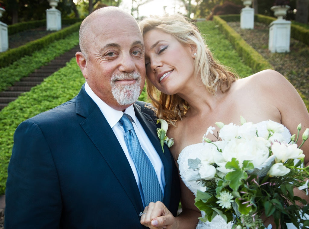 Billy Joel, Alexis Roderick, Wedding