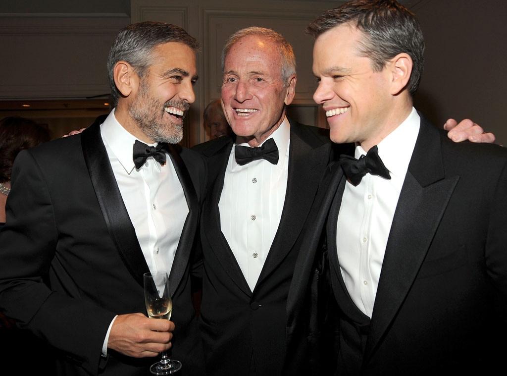 George Clooney, Jerry Weintraub, Matt Damon