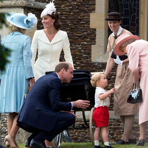 Prince William, Duchess of Cambridge, Prince George, Princess Charlotte, Queen Elizabeth, Christening, Maria Teresa Turrion Borrallo