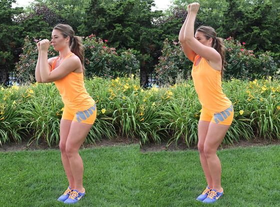 Fitness Challenge Week 7 - Sliding Forarm Press