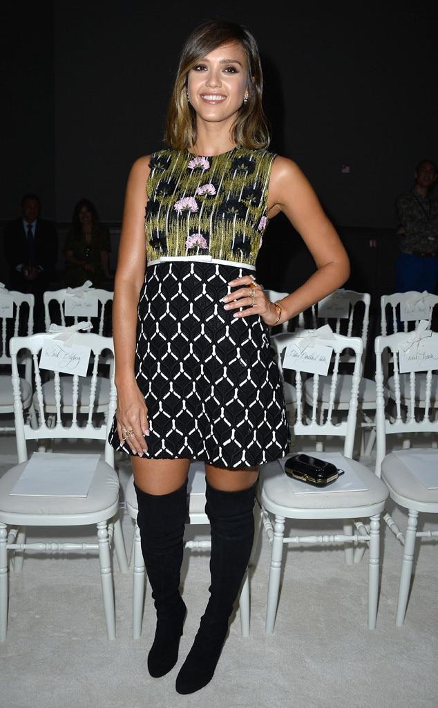 Jessica Alba, Paris Fashion Week